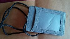 收藏品:文具Card Holder with carrying strap