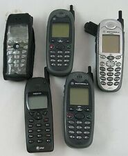 Mixed Lot 5 Cell Phones Motorola Nextel Untested As Is