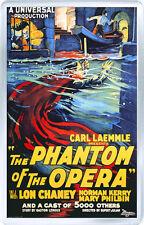 THE PHANTOM OF THE OPERA 1925 FRIDGE MAGNET IMAN NEVERA