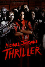 Michael Jackson's Thriller Movie Poster Film Wallpaper 41x61cm 17x24inch
