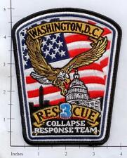 Washington DC - Rescue 3 District of Columbia Fire Dept Patch Collapse Response1