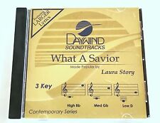 Daywind - Laura Story - What A Savior - accompaniment track christian cd - new