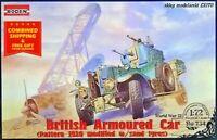 Roden 734 - 1/72 - British Armoured Car Pattern 1920 Mk.II plastic model kit