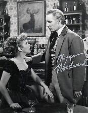 "OFFICIAL WEBSITE Morgan Woodward ""The Restless Gun"" (1958) 8x10 AUTOGRAPHED"