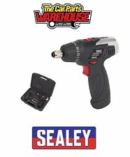 Sealey CP72S Cordless Screwdriver Set 50pc 50 Piece Kit 7.2V Lithium-ion