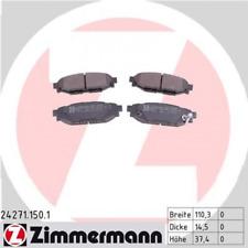 Bremsbelagsatz, Scheibenbremse Hinterachse ZIMMERMANN 24271.150.1