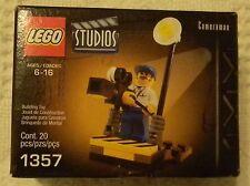 Lego Studios Cameraman 1357 Made In 2001 20 Pieces New NRFB
