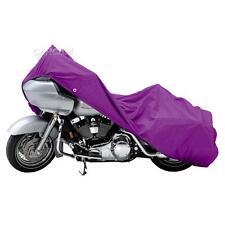 Purple Outdoor Motorcycle Storage Cover For Harley Davidson Street Glide XXXL