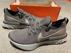 Nike React Infinity Run Flyknit Iron Grey Men's Shoes Sz 11.5 CD4371 015
