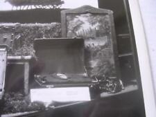 1930's Monson Trunk Co Fargo ND Store Front Display Wheary Luggage Photo