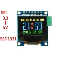 """0.96"""" 65K Color OLED Display Serial SPI Small LCM Module for Arduino Uno R3 51"""