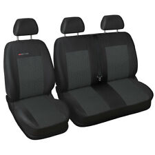 Fully tailored Van seat covers for Ford Transit Custom 2012 - onwards grey