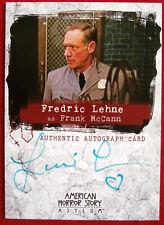 AMERICAN HORROR STORY - ASYLUM - FREDRIC LEHNE as Frank McCann - Autograph Card