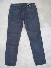 7 For All Mankind Jeans Roxanne Slim Skinny Crops Capri Dark Sz 28