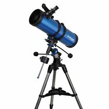 Meade Polaris 130 EQ3 Reflector Astronomy Advanced Telescope - Fantastic Views