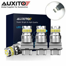 4X AUXITO Canbus 3157 3156 23SMD LED Reverse DRL Parking Brake Tail Light Bulb