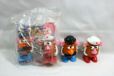 Lot of (2) -1999 McDonald's Happy Meal TOY STORY 2 MR & MRS. POTATO HEAD Wind-Up