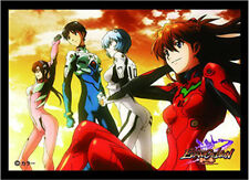 Neon Genesis Evangelion Assembly Card Game Character Sleeves Collection Vol.2