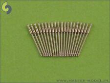 Master Model 1:350 Metal German 20mm L65 C/30 Early Type Barrels 20pc #SM350047