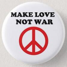 Pin Button Badge Ø38mm ( MAKE LOVE NOT WAR )