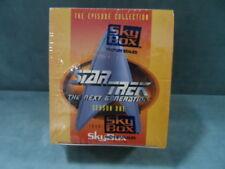 STAR TREK THE NEXT GENERATION Season 1 Skybox Trading Cards FACTORY SEALED 1994