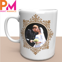 Prince Harry & Ms Meghan Markle Wedding Commemorative Coffee Mug gift memory