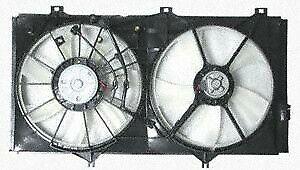 2007-2010 Toyota Camry/05-10 Avalon Radiator/Condenser Cooling Fan Assembly V-6
