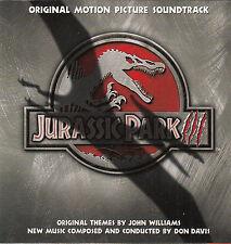 Jurassic Park 3- Original Movie Soundtrack-16 Tracks-CD