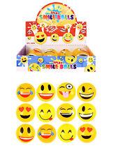 12 Smiley Face Splat Balls - Happy Splatter Stress Relief Fidget Sensory Emoji