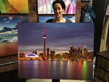 Toronto Skyline Canvas Print Huge Ready to Hang Wall Art Decoration Real Photos