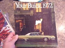 1972 Your Buick 1972 car sales brochure  - LOTLUD