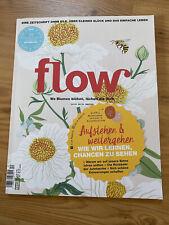 Zeitschrift * flow * Nr. 52 mit allen Extras ? Sticker Notizbuch ? neu