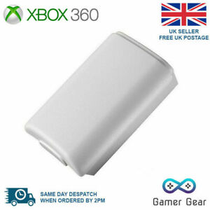 Xbox 360 Controller Battery Cover Case Shell Pack - White