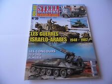 STEEL MASTERS HORS-SERIE ISSUE 20 -ISRAELO-ARABES MILITARY WARGAMING MAGAZINE
