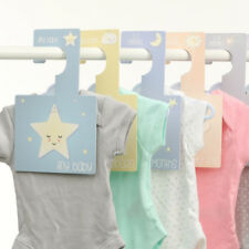 Pack of 8 Baby Wardrobe Dividers Sweet Dreams Hangers to Organize Clothes Gift