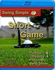 [Blu-Ray ] Swing Simple Short Game Chipping Putting Golf Instruction Video dvd