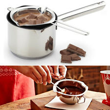 Stainless Steel Chocolate Butter Melting Pot Pan Kitchen Milk Bowl Double Boiler