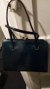 sac couleur bleu pétrole