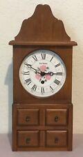 Seth Thomas Spice Box-W Shelf or Wall 8 Day Clock - Model E608-001
