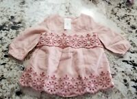 Baby Gap Pink Dress, 3-6 months..12-17 lbs