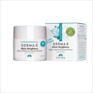 DERMA E Skin Brighten Cream 2 oz. exp 2022
