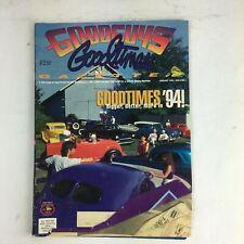 January 1994 Goodguys Goodtimes Gazette Magazine Goodtimes Bigger Better '94!