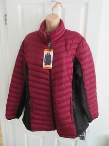 32 degrees Burgundy Casual Puffer Jacket/Coat - Womans XXL