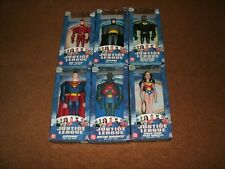 Lot Of 7 Justice League 10 Inch Figures 2003 Mattel Brand New Sealed