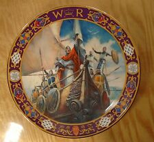 Royal Doulton ~ WILLIAM THE CONQUEROR PLATE ~ Kings and Queens of the Realm