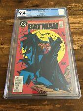 BATMAN #423 CGC 9.4 TODD MCFARLANE Cover DC Comics 1988
