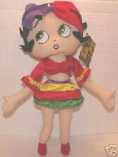 "Flamenco Dancer Betty Boop Plush! 14""! Brand New!"