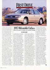 1997 Oldsmobile Cutlass -  Car Original Print Article J187