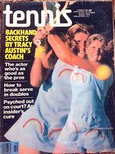 'Tennis' US Tennis Magazine - January 1978 - Tracy Austin.