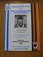 10/08/1988 Worcester City V Wolverhampton Wanderers [John McGrath vantaggio ITE].